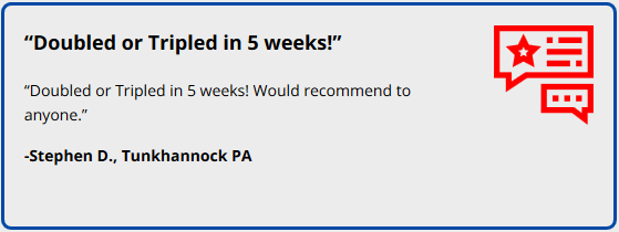 semenax customer review
