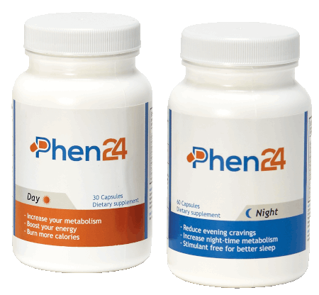 Phen24 – 24-Hour Active Fat-Burning Agent
