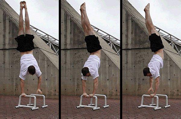Handstand: Pirouette or U-turn