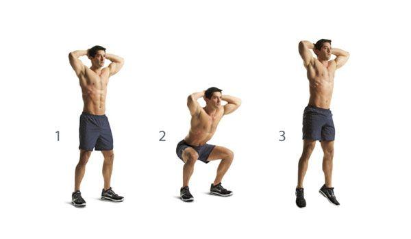 Jump Squat technique