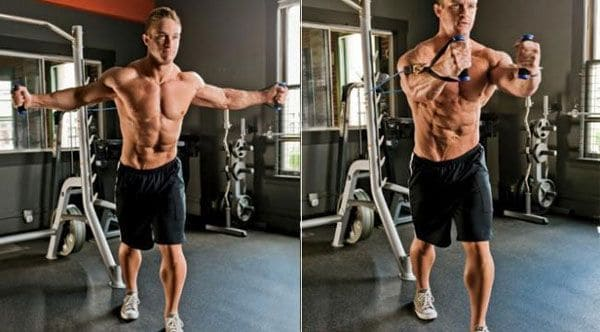 сable crossover: mid pectoral muscles