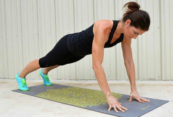 finger push ups: exercise