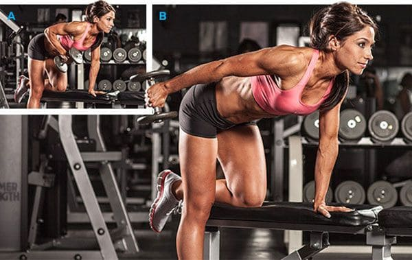 incline dumbbell triceps extension - right technique
