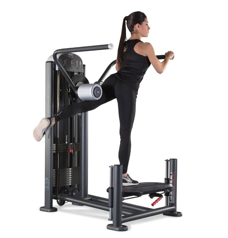 machine: hip extension_leg back