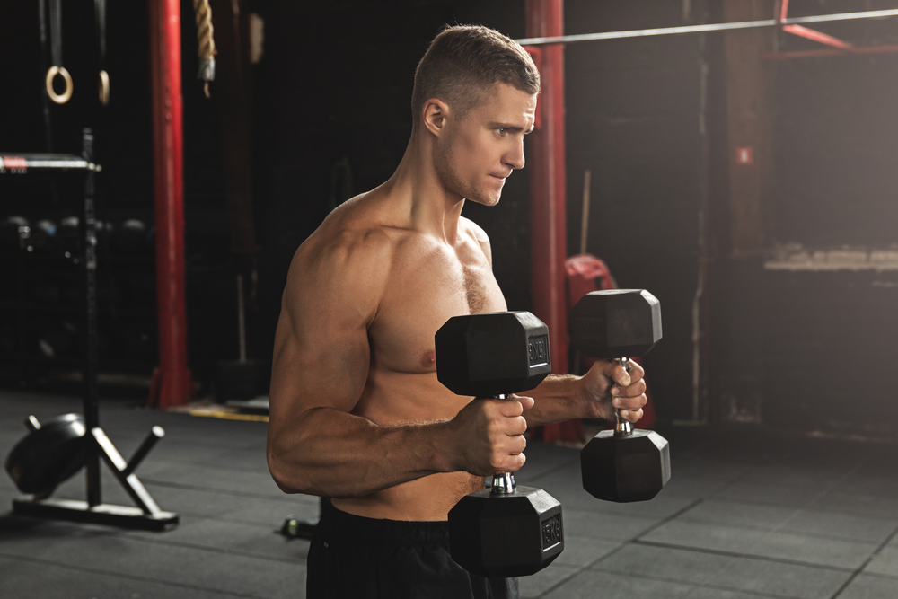 Biceps Workout – Supinated Wrist Curl With Dumbbell