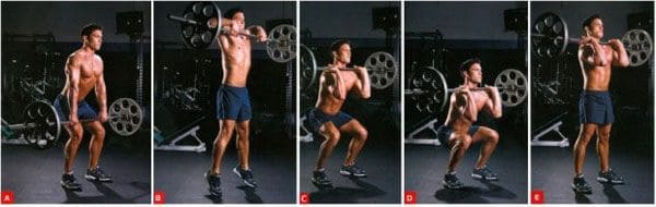 standing-barbell-press-lifting-barbell from-mid-thigh-level